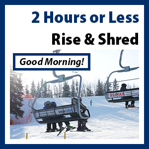 Rise & Shred 2-hr Ticket - Morning