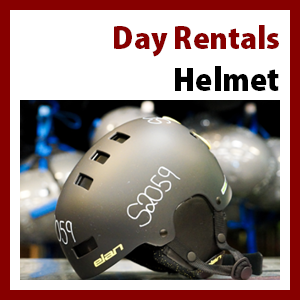 Helmet Only Rental